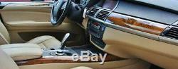 BMW OEM Genuine E70 E70 LCI X5 2007-2013 Light Poplar Interior Trim Kit NEW