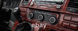 BMW Z3 Series Interior Dash Trim Kit 3M 3D 20-Parts Burl Wood 1996-1999 RHD