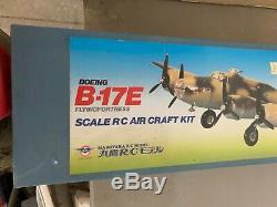 B-17 Flying Fortress R/C Model Airplane Kit Vintage R/C Royal Kit