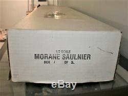 Balsa USA 1/3rd Scale WWI Morane Saulnier Balsa Model Airplane Kit New In Box