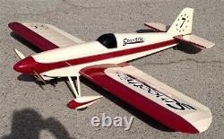 Balsa USA Smoothie XL Remote Control Rc Sport Aerobatic Airplane Kit #435