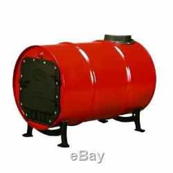 Barrel Stove Kit Convert Steel Drum Wood Heater Cabin Barn Workshop Shop Furnace