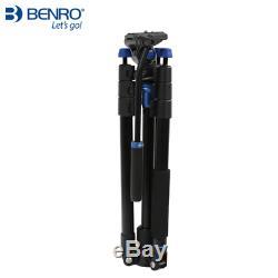Benro Travel Video Tripod Kit Aero 2 A1883FS2C Converts To Monopod 64.8