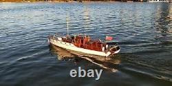 Bluebird of Chelsea Yacht Scale 1/18 880 mm 34.6 RC Wood Model Ship kit