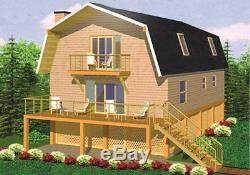 Bluemont 24 x 36 Customizable Shell Kit Home, delivered ready to build