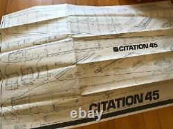 Brand New YOSHIOKA CITATION 45 Super rare wood kit Free Shipping