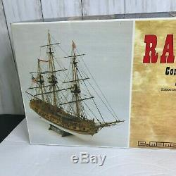 C. Mamoli Rattlesnake Privateer 1781 Wood Ship Model 164 Kit NEW Open BOX