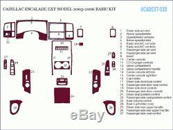 Cadillac Escalade Ext 2003 2006 New Auto Style Interior Wood Dash Trim Kit 27p