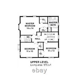 Cheltenham Country 30x32 Customizable Shell Kit Home, delivered ready to build