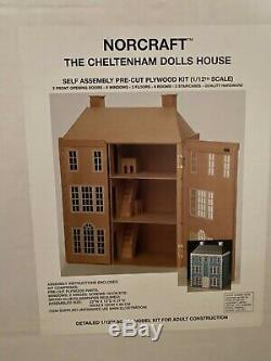 Cheltenham Front Opening Greenleaf Dollhouse Kit RARE New In Box