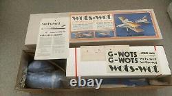 Chris Foss Wots Wot Biplane G/F Deluxe Kit (Kit to Build) NOT ARTF
