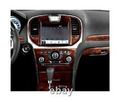 Chrysler 300 C Set Fits 2011- 2014 Tuning Set 21 Pcs Interior Wood Dash Trim Kit