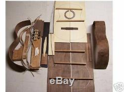 Classical Guitar CUSTOM DIY Kit. All Solid Wood with Spruce Top+MAHOGANY BODY