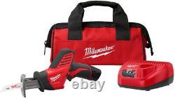 Compact Reciprocating Saw Mini Sawzall Cordless with Charger Battery Tool Bag Kit