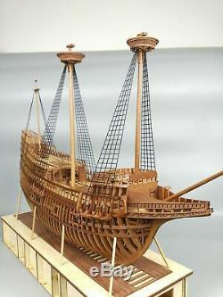 Crown Mayflower Full Ribs POF 1/4 1/48 31 Version Wood Model Ship Kit HOBBY