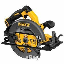 DEWALT DCS575T2 FLEXVOLT 60-Volt MAX 7-1/4 in. Circular Saw with Brake Kit
