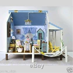 DIY Handcraft Miniature Project Wooden Dolls House Music The Happiness Coast Kit