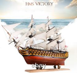 DIY Handmade Ship Wooden Sailing Boat Model Kit HMS VICTORY wood kits ships NEW