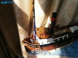 DIY SANSON Tugboat Scale 1/50 610mm RC boat Wood Model Ship Kits