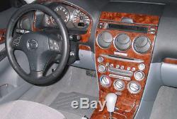 Dash Trim Kit Fits Mazda 6 2003 2004 2005 03 04 05 Wood Carbon Aluminum