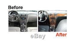 Dash Trim Kit for BMW X3 04-10 Wood Carbon Cover Overlay Interior Car Dashboard