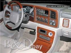 Dash Trim Kit for CADILLAC ESCALADE 03 04 05 06 carbon fiber wood aluminum