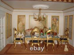 Deagostini JP 1/12 Scale DollHouse European Style Palace Unassembled Model Kit