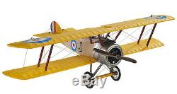 Desk Top WWI Sopwith Camel Biplane Wood Model Plane 10 Airplane New