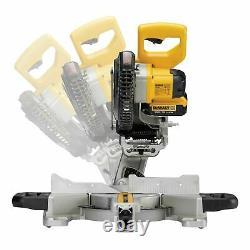 Dewalt DCS365M2 18volt Cordless Mitre Saw Kit 2 x 4.0AH Batteries & Charger