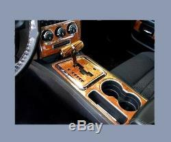 Dodge Challenger Fits 2008-2014 New Wood Carbon Auto Dash Trim Premium Kit 34pcs