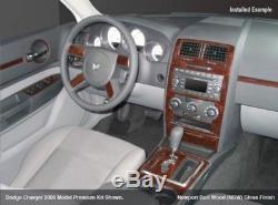 Dodge Charger Fits 2008 2009 2010 Magnum 2008 New Auto Wood Dash Trim Kit 31 Pcs