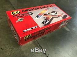 EZ'S CHRISTEN EAGLE I 40 Aerobatic R/C Biplane Airplane ARTF Kit