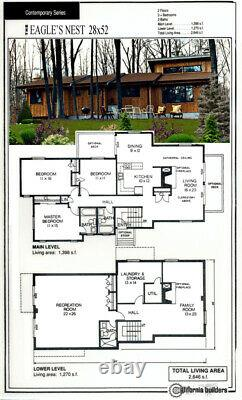Eagles Nest Contempo 28x52 Customizable Shell Kit Home, delivered ready to build