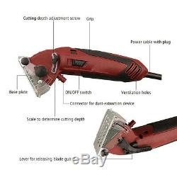 Electric Mini Laser Circular Saw Hand Held Grinder Cutting Tool Kit with 3 Blades