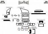 FOR BMW E36 3 SERIES INTERIOR Dash Trim Kit 3M DASH TRIM BURL RHD 20 PCS 91-98