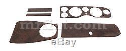 Fiat 124 Spider 1600 1800 Dark Dashboard Wood Kit New