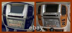 Fit Toyota Land Cruiser Fit 1995 1996 1997 New Style Interior Wood Dash Trim Kit