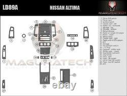 Fits Nissan Altima 2005-2006 Auto Trans NO Navigation Large Wood Dash Trim Kit