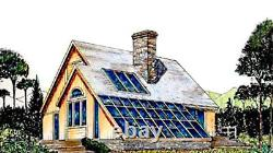 Flagstaff Cape Cod 36x56 Customizable Shell Kit Solar, delivered ready to build