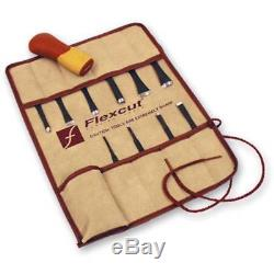 Flexcut SK107 Craft Carver Kit 11pc Wood Carving From Chronos Brand New