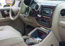 Ford Excursion Xlt Limited Fit 2000 -2005 New Style Interior Wood Dash Trim Kit