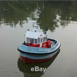 Fraser River tug boat Scale 1/20 500 mm two motors RC Model kit