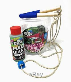 Giant Bubbles Pocket Kit Dr Zigs Original Outdoor Toy Educational Game Activity