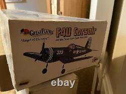 Great Planes F4u Corsair Rc Kit. 40 Size Bnib