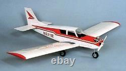 HERR Piper Cherokee Balsa Wood Model Scale RC Remote Control Airplane Kit HRR504