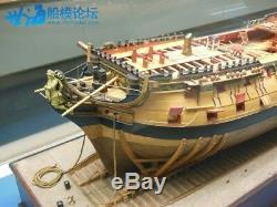 HMS Bellona Scale 1/48 1250mm session 2-3 74 gun battleship Wood Model Ship Kit