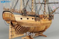 HMS Druid 1766 Scale 1/50 900mm 35.4 full rib Wood Model Ship Kit Free Post