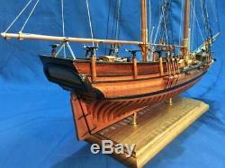 HOBBY DIY USS Hannah Armed vessel POF Scale 1/48 25.3 643mm wood model ship kit