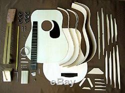 HOSCO GR-KIT-D2 Acoustic Guitar Kit Rose Wood Back & Side Japan New +Track Num