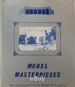 HO HOn3 CRAFTSMAN MODEL MASTERPIECES SHORTLINE ENGINE HOUSE/SHOP KIT NEW